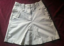 falda blanca marca morgan talla 38 skirt white size 38