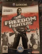 Nintendo Gamecube Freedom Fighters Video Game (UK PAL) *COMPLETE* with Manual