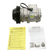 For Chrysler Town & Country Dodge Caravan Plymouth A/C Compressor Delphi CS20121