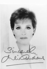 Julie Andrews Signed Photo - Sound of Music - Mary Poppins