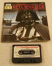 1983 Vintage Star Wars Return Of The Jedi Cassette Tape Read Along 24 Page Book