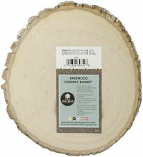 """Basswood Country Round Plaque-9"""" To 11"""" Wide"""