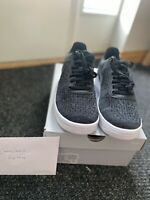 New Genuine Nike Air Force 1 Flyknit 2.0 Trainers Size UK 9 Black / Anthracite