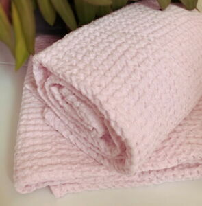 large soft waffle spa linen cotton towel thick stonewashed flax sauna bath sheet