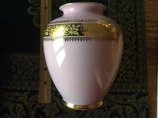 RWK Rudolph, Wachter, Kirchenlamitz Pink/Rose Vase, Bavaria Germany Mid Century