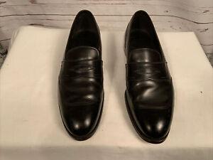 Paul Stuart's Loafers Men Sz 9.5 C Black
