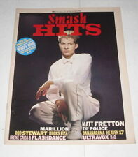June Smash Hits Music, Dance & Theatre Magazines