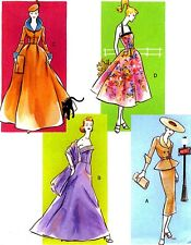 "RARE VINTAGE 11½"" DOLLS CIRCA 1950 RETRO STYLE CLOTHES SEWING PATTERN Vogue 8014"