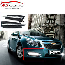 2011-2014 Chevy Cruze SMD LED Driving DRL Fog Lights 6000K Daytime Running Light