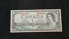 1954 Canada One Dollar Note VERY FINE DEVIL FACE $1 Bill PRICED TO SELL!