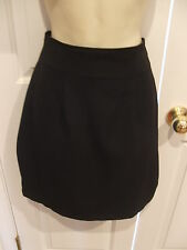 new/pk frederick's of hollywood black classic straight skirt made in USA  9/10