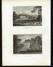 STRATTON PARK Hampshire & North Court Isle of Wight  -Great Britain 1831