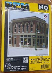 DPM Design Preservation Models HO #11500 The Other Corner Cafe (Kit Form)See Pic