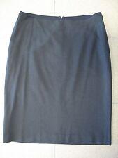 Women's Skirt DKNY Dark Navy pencil wool spandex stretch sz 10