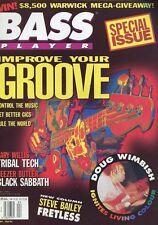 Bass Player # April 1993 -IMPROVE YOUR GROOVE- Gary Willis, Geezer Butler,...