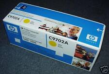 NEW HP Yellow PrintCartridge C9702A for LaserJetSeries