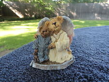 Boyds Bears Bearstone Hope Angelwish & Everychild Bless Our Children Figurine