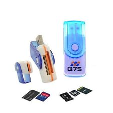 All in One USB Memory card reader for almost all types of Memory cards.