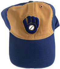 NWOT MLB Milwaukee Brewers Cooperstown Collection Franchise M Hat Cap Twins Ent.