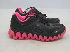 Reebok 'Realflex Run' Black And Pink Running Shoes 15217404 Size 6
