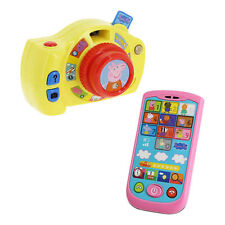 Peppa Pig Peppa's First Camera & Smartphone Play & Learn Numbers & Colours 18m +