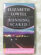 Running Scared by Elizabeth Lowell (4 Audio Book Cassettes, Abridged - 2002)