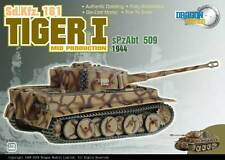 Dragon Armor 60019 Henschel Sd.Kfz.181 Tiger German Army sPzAbt 509, #122, 1944
