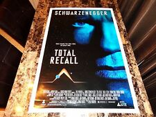 Total Recall Rare 1-Sheet Movie Poster 1990 Arnold Schwarzenegger Sharon Stone