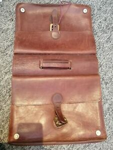 Leather Double Sided Briefcase