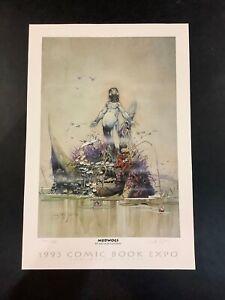ARTHUR SUYDAM SIGNED MUDWOGS 1993 SAN DIEGO COMIC CON ART PRINT LMT ED 175/450