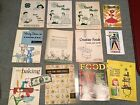 Vintage Rare Cookbooks Lot of 58 books/booklet Many Categories Good Condition