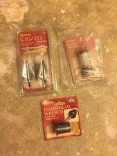 New Crossbow Wax, Grizzly Broadheads Set 3, Broadhead Wrench