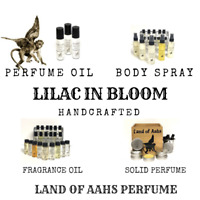 LILAC IN BLOOM Perfume / Body Spray Fragrance Rose Lily of the Valley Scent