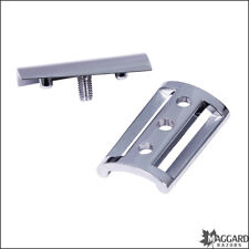 Safety Razor Replacement Head, Chrome Maggard Razors SLANT (Fits Edwin Jagger)