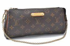 Authentic Louis Vuitton Monogram Eva Accessories Pouch M95567 LV A9204