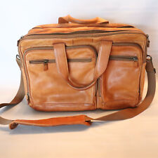 HARTMANN Leather Luggage Overnight Carry On bag