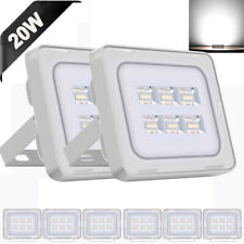 8x 20W LED Flood Light Cool White Outdoor Security Landscape Spot Lamp US STOCK
