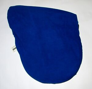 SADDLE COVER BLUE FLEECE GREAT QUALITY HORSE RIDING EQUESTRIAN BNWT AMIDALE