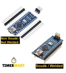 Nano Atmega328 CH340 V3.0 Arduino kompatibel TimerMart