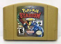 Nintendo 64 N64 Pokemon Stadium 2 Game Cartridge *Authentic/Cleaned/Tested*