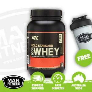 ON Gold Standard 100% Whey Double Rich Chocolate 909g | FREE Shaker & Shipping