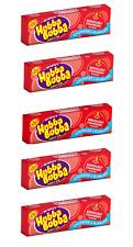 Hubba Bubba Seriously Strawberry Bubblegum x 5 Packs