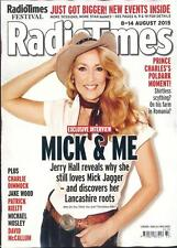Radio Times Jerry Hall,Prince Charles,Charlie Dimmock,Jake Wood,Paul Hollywood