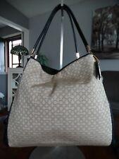 COACH Madison Phoebe Needlepoint Op Art Shoulder Bag 26281