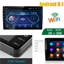 2Din Radio De Coche Sistema 9in Android 8.1 Pantalla Táctil Bluetooth Wifi GPS multimedia