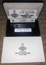 LA KINGS 2014 STANLEY CUP FINALS GAME USED ICE/WATER - Staples Center 6/13/2014