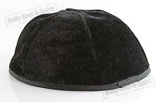 Black Velvet Covering Cap Beanie Kippah Yarmulke Kippa Israel Tribal Jewish Hat
