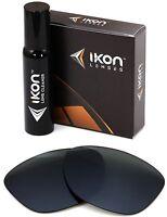 Polarized IKON Replacement Lenses For Ray Ban RB2140 Wayfarer (50MM) Black