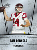 "SAM DARNOLD 2018 LEAF DRAFT ""SILVER EDITION"" ROOKIE CARD! USC TROJANS / NY JETS!"