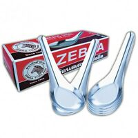 New 1-12 Chinese Japanese Stainless Steel Zebra Spoon food soup curry Kitchen